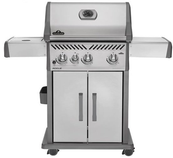 Napoleon Rogue 425 with Infrared Side Burner Gas BBQ