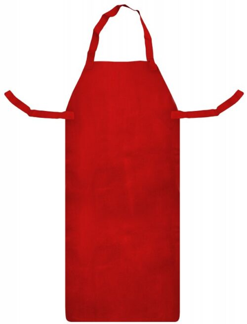 SWP Red Leather Apron