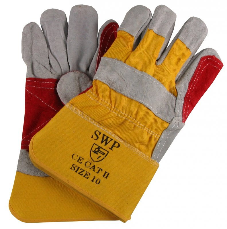 SWP Reinforced Palm Rigger Gloves