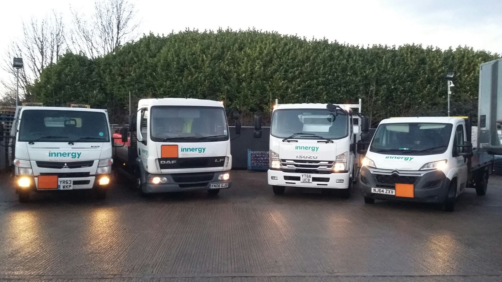 innergy group delivery vehicle fleet