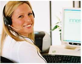 innergy group customer support answering the telephone