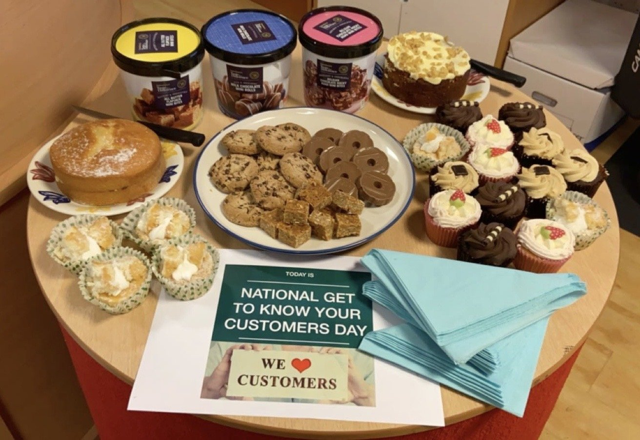 Bake off for get to know your customers day