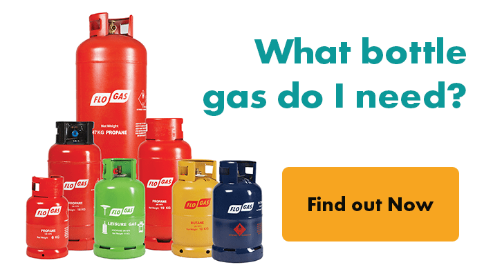 What bottle gas do I need?