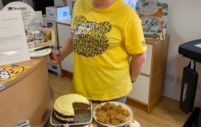 Our Finance & Administration Manager supporting Macmillan